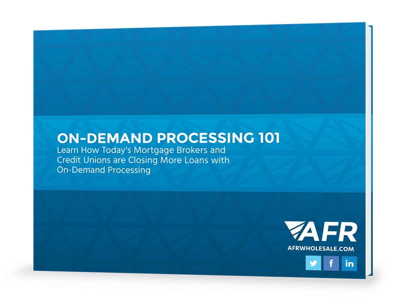 On-Demand Processing