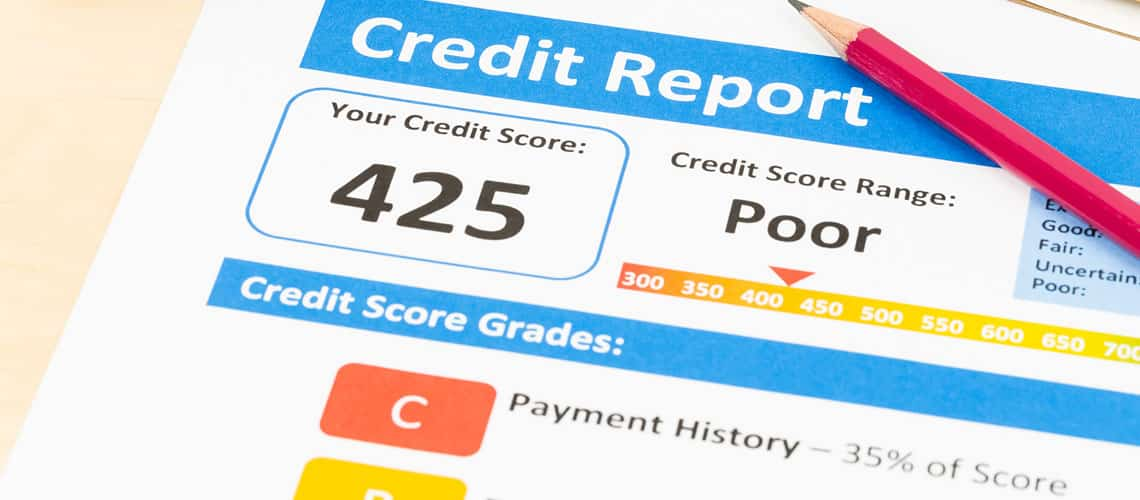 A Low Credit Score Is Not A Showstopper