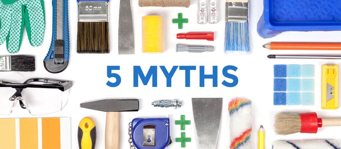 5 Myths About Renovation Loans