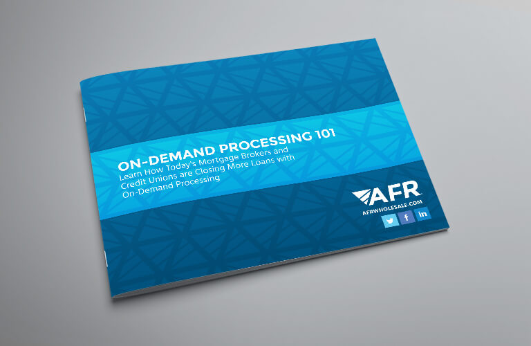 On-Demand Processing 101