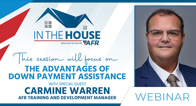 In the House - Down Payment Assistance (30 Min)