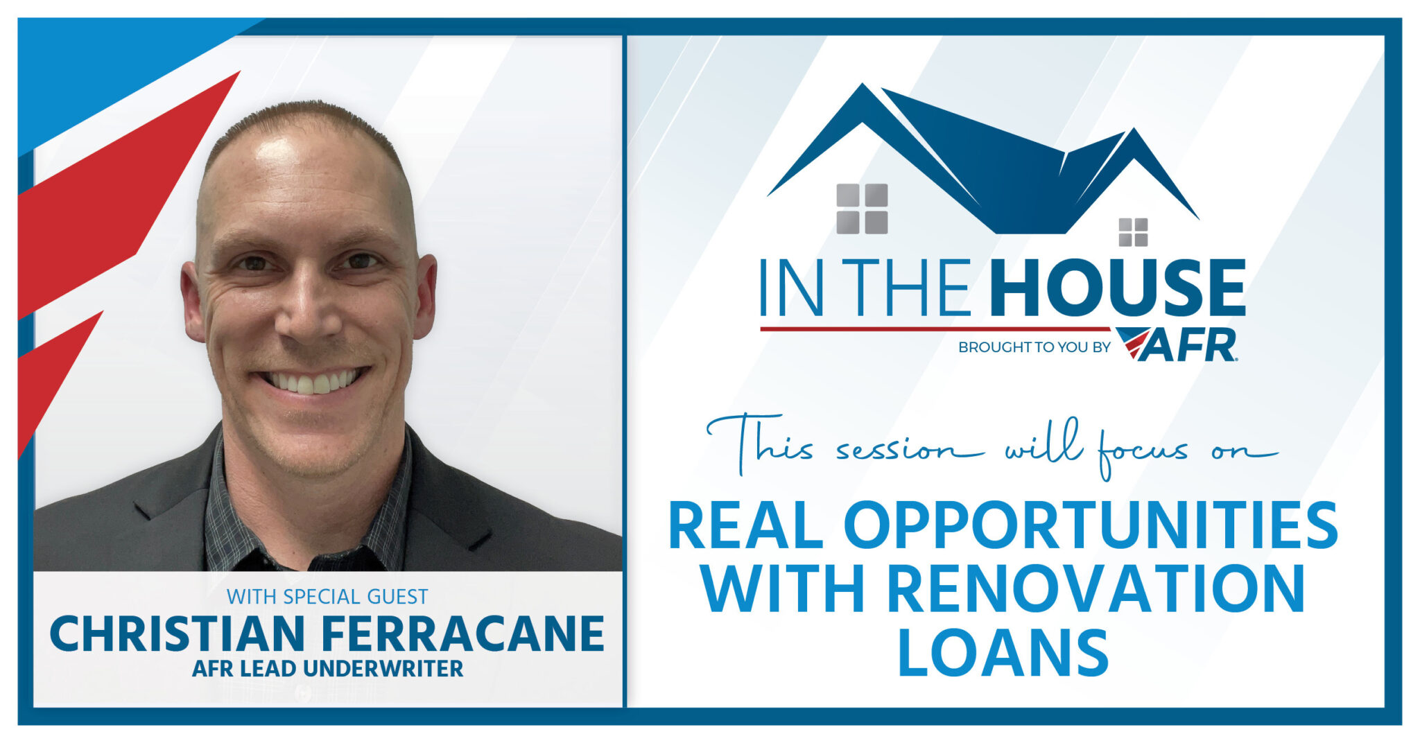 In the House - Real Opportunities with Renovation (30 Min)